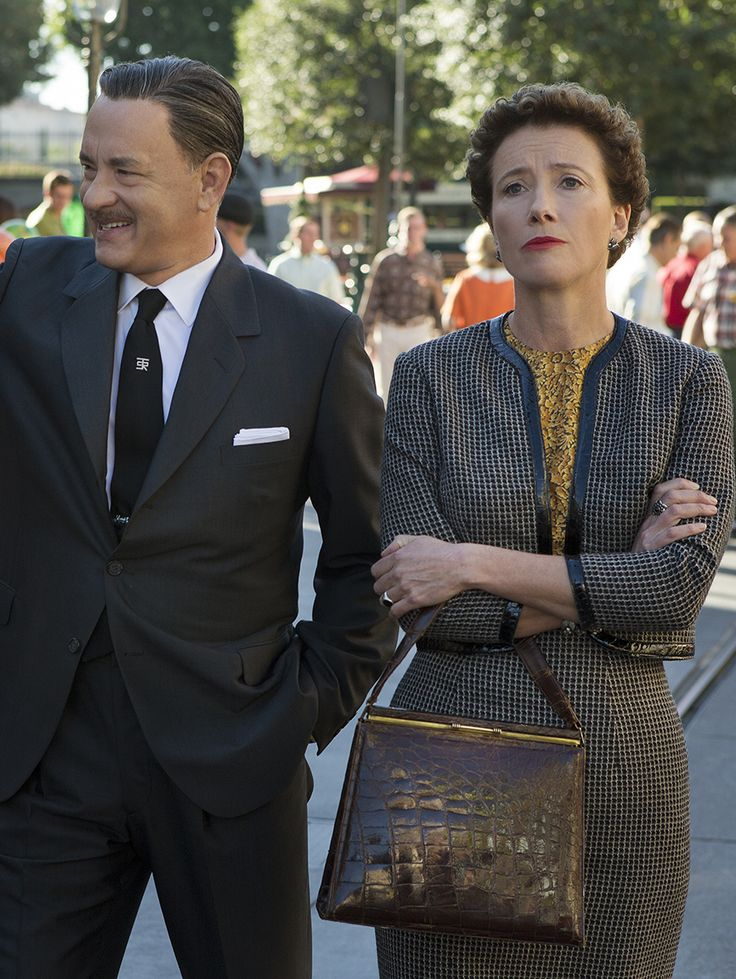 Get a first look at Tom Hanks as Walt Disney & Emma Thompson as P.L. Travers in Saving Mr. Banks!
