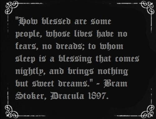 Bram Stoker.