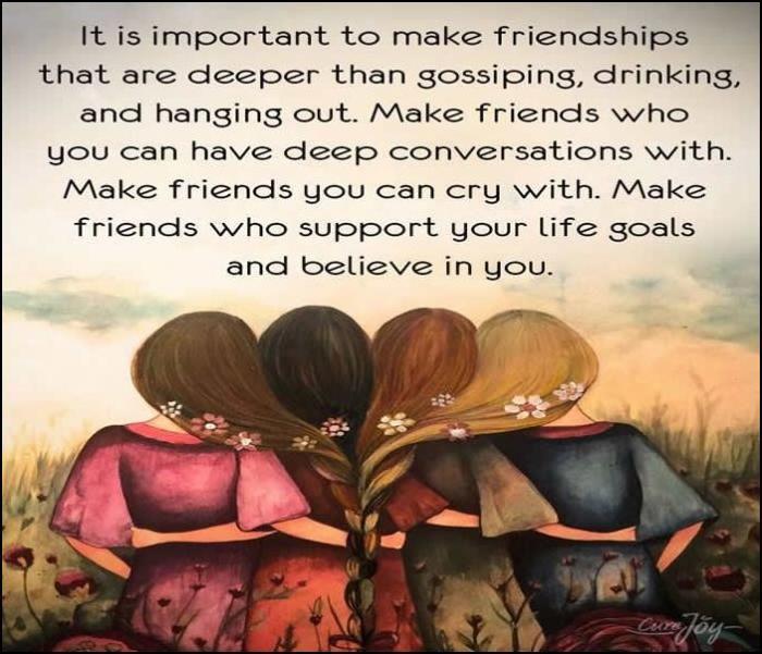 Friendship Quotes Close Friends are Truly Treasure