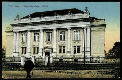 Zsolna; Osztrák–Magyar Bank | Gallery | Hungaricana
