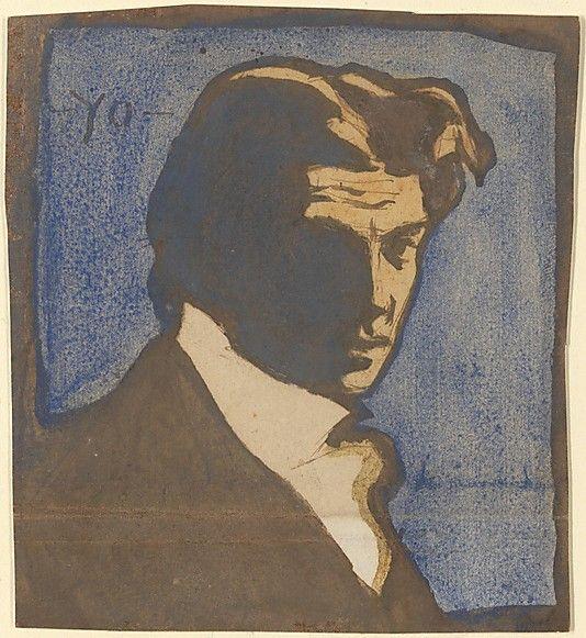 Pablo Picasso, Self-Portrait,1900.