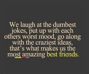 This is what makes us amazing best friends :)