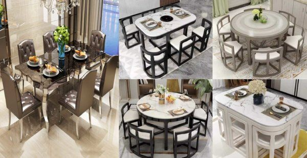 45++ Dining table designs for small area Ideas