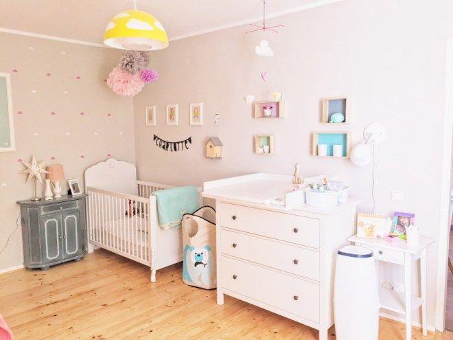 Babyzimmer Pastell