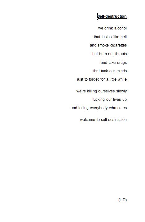 drug poems tumblr - Google Search