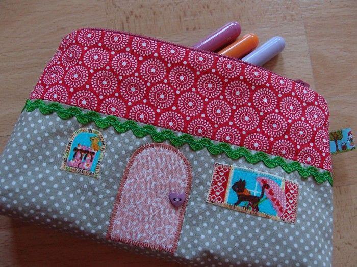 Pouch for little girl www.vjahodovce.blogspot.com