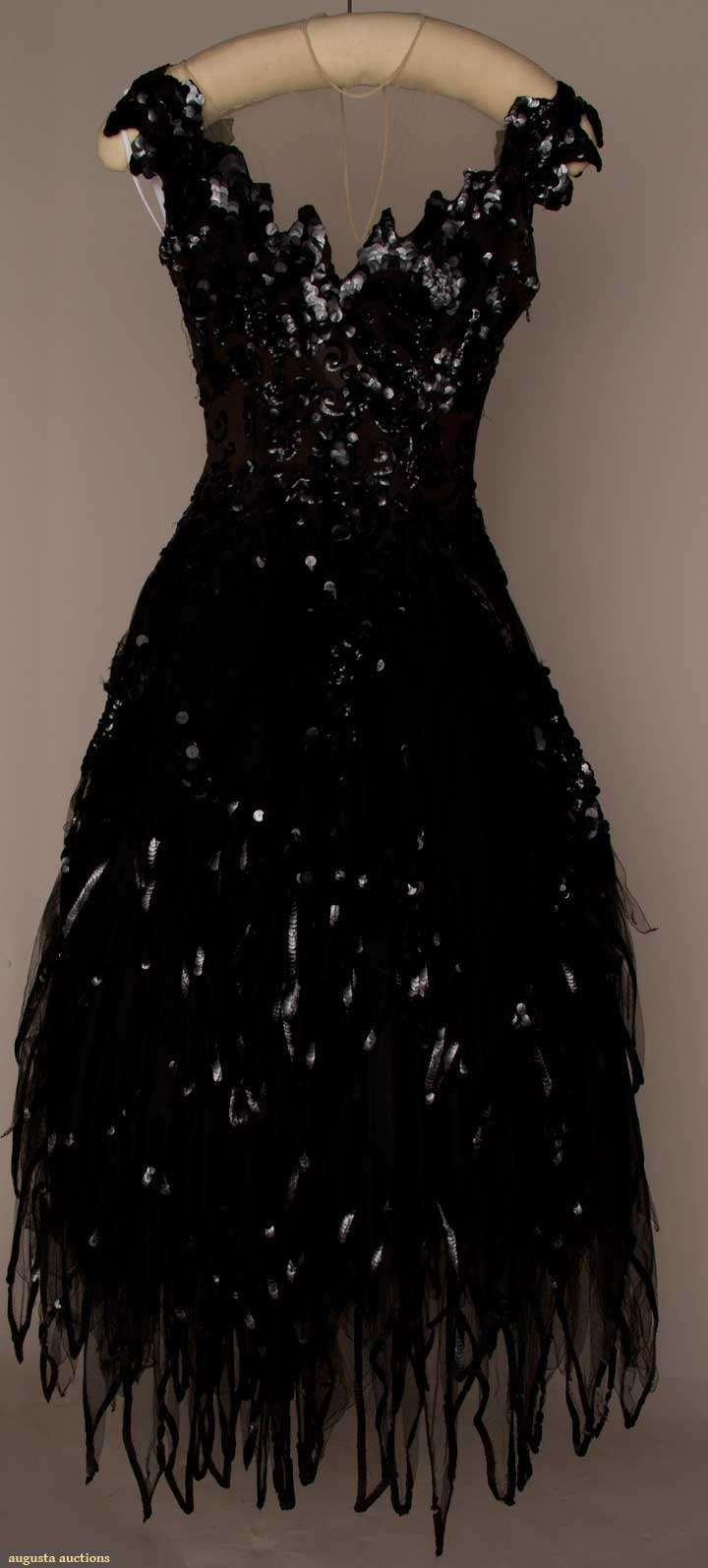 Howard Greer Tulle Ballgown, 1951, Augusta Auctions, March 21, 2012 NYC, Lot 309