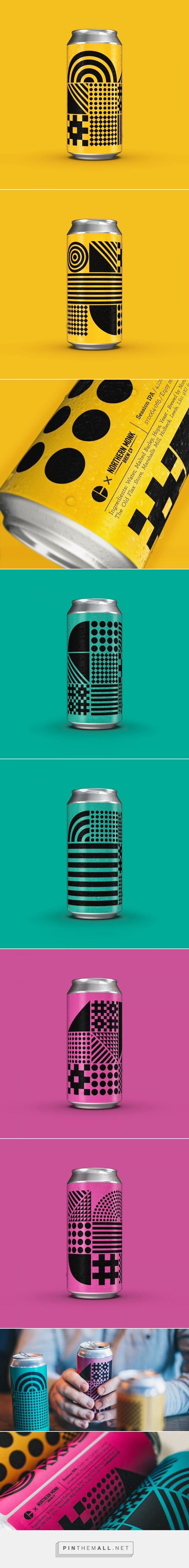 Craft Recruitment Beer packaging design by Ollie Langridge - http://www.packagingoftheworld.com/2017/12/craft-recruitment-beer.html