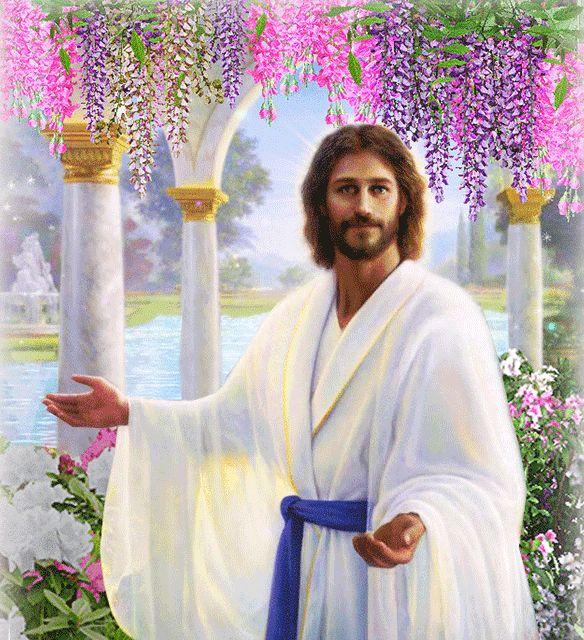 Картинки иисус анимация