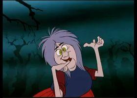 Maga Magò Maga Magò (mad Madam Mim) è un personaggio Disney che compare sia nel lungometraggio di animazione La spada nella roccia sia in numerose storie a fumetti. Il suo nome originale, mad Madam Mim, significa la matta signora  Mim, il che risulta un nome appropriato, alla luce del suo carattere euforico e imprevedibile.ha una passione sfrenata per giochi e scommesse, tuttavia è disposta a fare qualsiasi cosa per vincere, anche barare.
