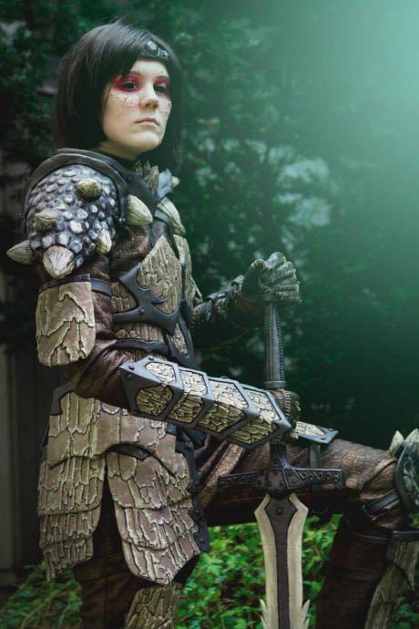 Skyrim - Dragon Armor by Helena