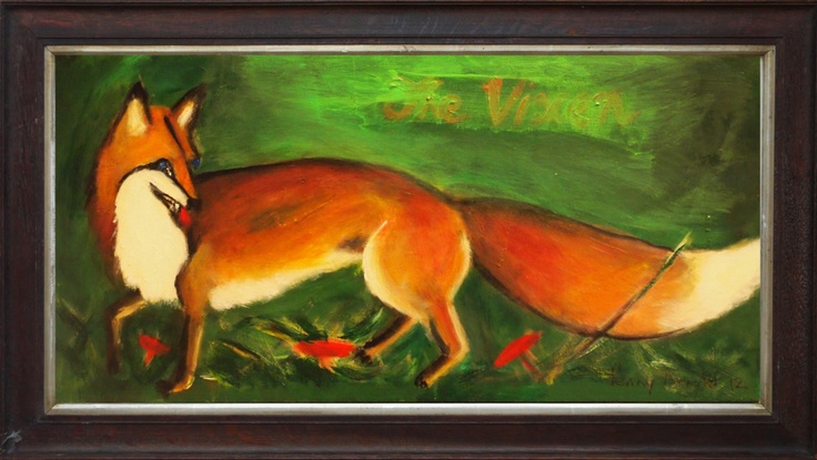 Original Painting of The Vixen by Penny Arnold www.pennyarnold.com