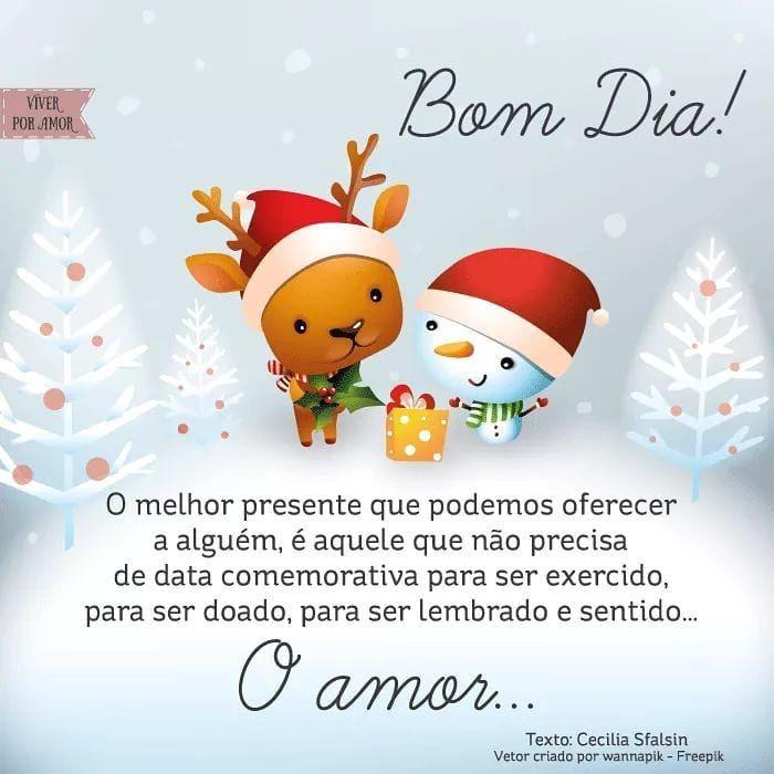 Pin De Guiga Wildgrub Em Bom Dia Amor Desejos De Natal