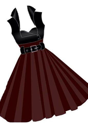 Retro Rockabilly Dress