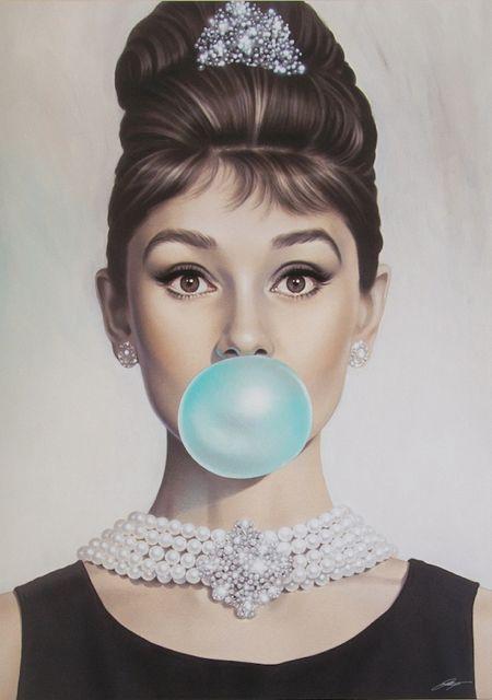 Image of Audrey Bubblegum by Michael Moebius
