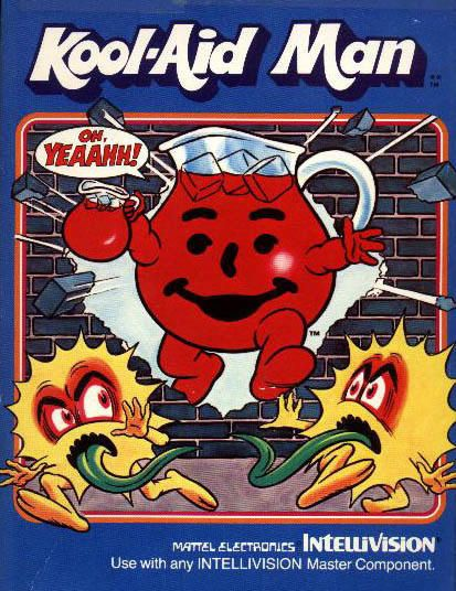 Kool-Aid Man Intellivision video game.  I turned in Kool-Aid points to get this in the mail. So great!