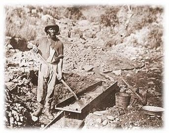 #TodayInCAHistory: On July 29, 1849, California miners forbade the use of slaves as laborers in the mother lode in a meeting  prompted by the actions of Col. Thomas Jefferson Green, a flamboyant Texan who brought his slaves to California to work his claim. Although the miners' declaration was motivated by racism and fear of slave-labor competition, the anti-slavery sentiment ensured that California would enter the Union as a free state the following year on September 9, 1850.