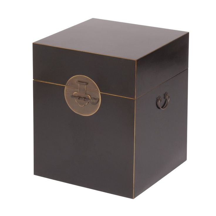 Classic Chinese Wooden Blanket Box