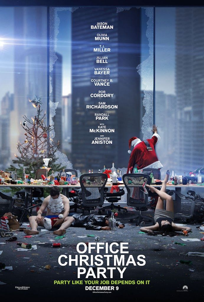 OFFICE CHRISTMAS PARTY movie poster