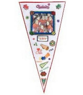 Joann - Cheerleading Pennant    #PA00173    Crafting Time:1-2 hours - Change theme