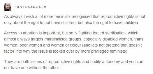 While I disagree with abortions from a scientific side, I would be able to appreciate the opposite opinion far more if it were focused more on promoting all choices!!!
