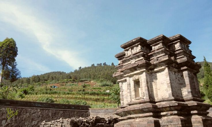 Gathotkaca Temple, Dieng, Central Java, Indonesia