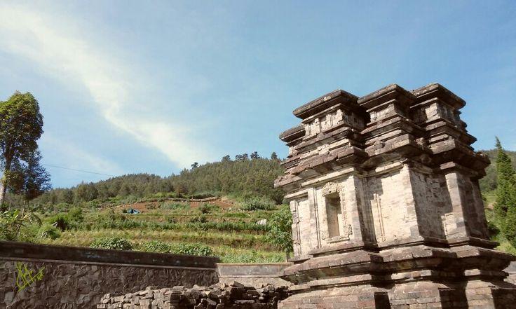 Gathotkaca Temple, Dieng, Central Java, Indonesia