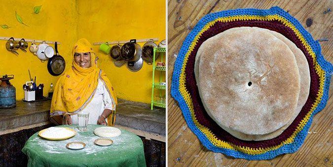 Φωτο-ταξίδι γεύσεων σε όλο τον κόσμο με σεφ... γιαγιάδες!  Μαρόκο, Bat Bot (η αντίστοιχη «μπομπότα», ψωμί μαγειρεμένο σε τηγάνι)