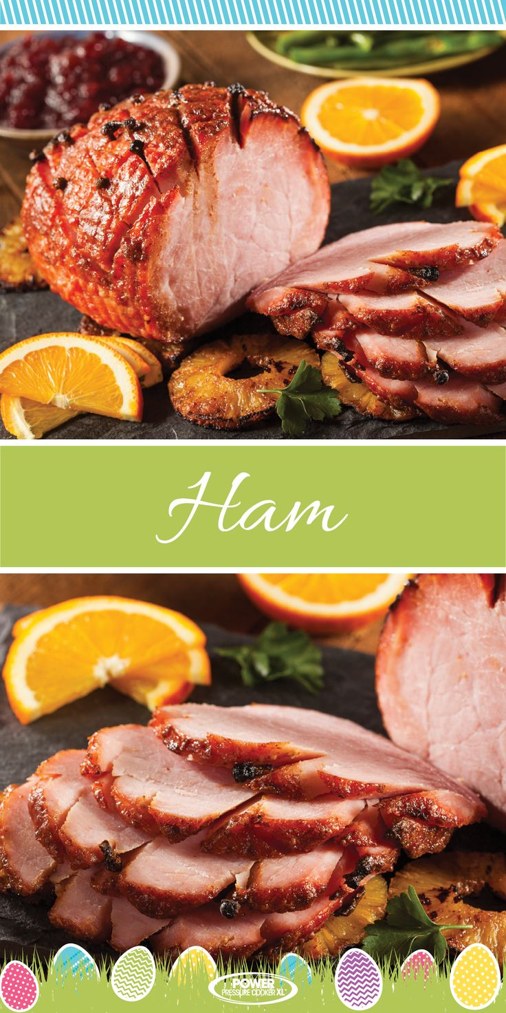 Create a perfect Easter Ham right in your Power Pressure Cooker XL! You family is going to love this recipe!