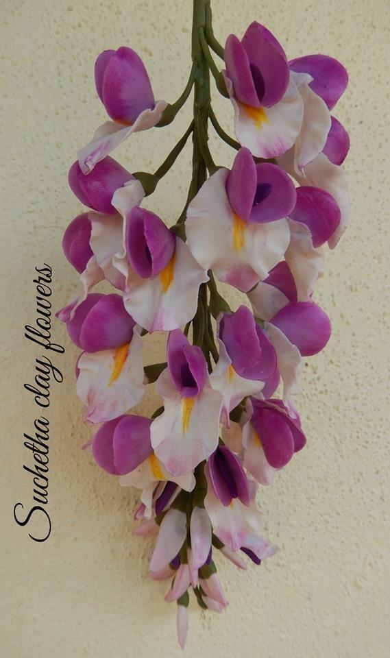 flower clay tutorial - photo #38