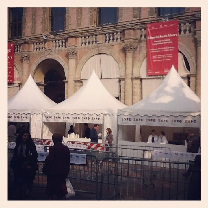 Le pagode degli assaggi #ExpotourBologna #ExpoTour #Expo2015 #ExpoMilano2015 #Bologna #TavolaPlanetaria