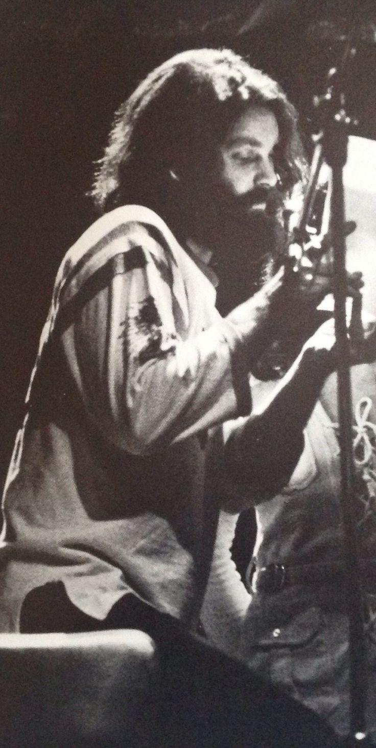 Jim Morrison. Poetry recording session, Jim's last birthday, 12/8/1970.