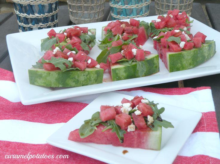feta wedges salad wedges potatoes watermelon watermelon arugula salads ...
