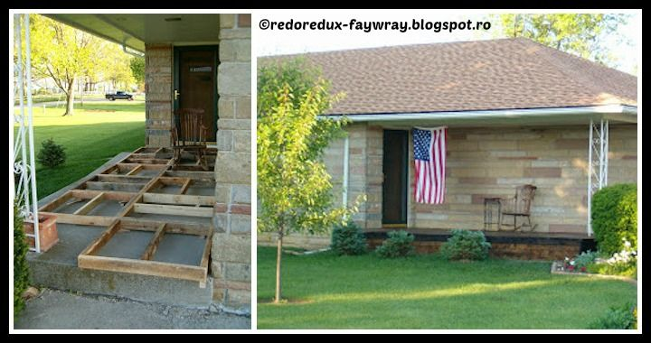 DIY Pallet Wood Front Porch Tutorial