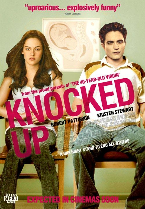 8 Classic Romance Movies Now Starring 'Twilight' Characters: 'Knocked up' |  Twilight Saga | Romance Movies, Twilight movie, Chick flick movies