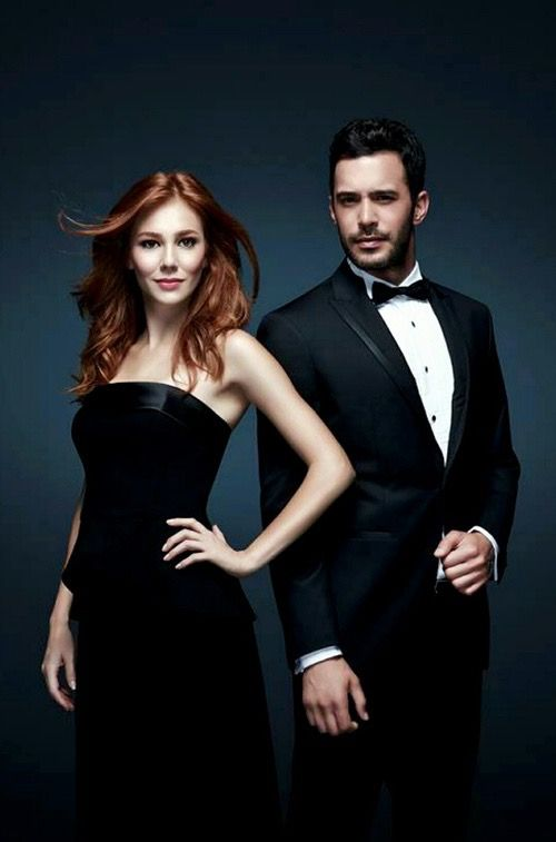 Elçin Sangu & Barış Arduç Elcin played Guzide in Kurt Seyit ve Sura the Turkish TV series