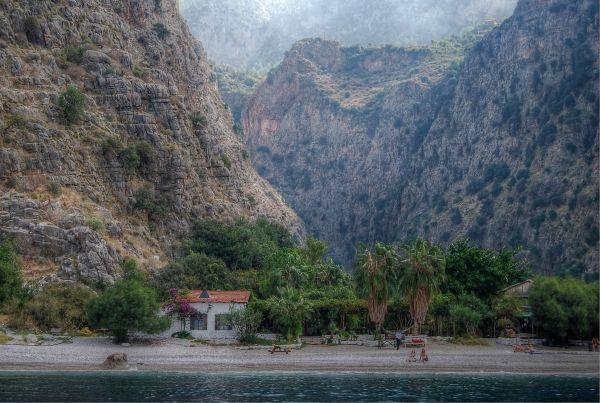 Butterfly Valley near Olu Deniz