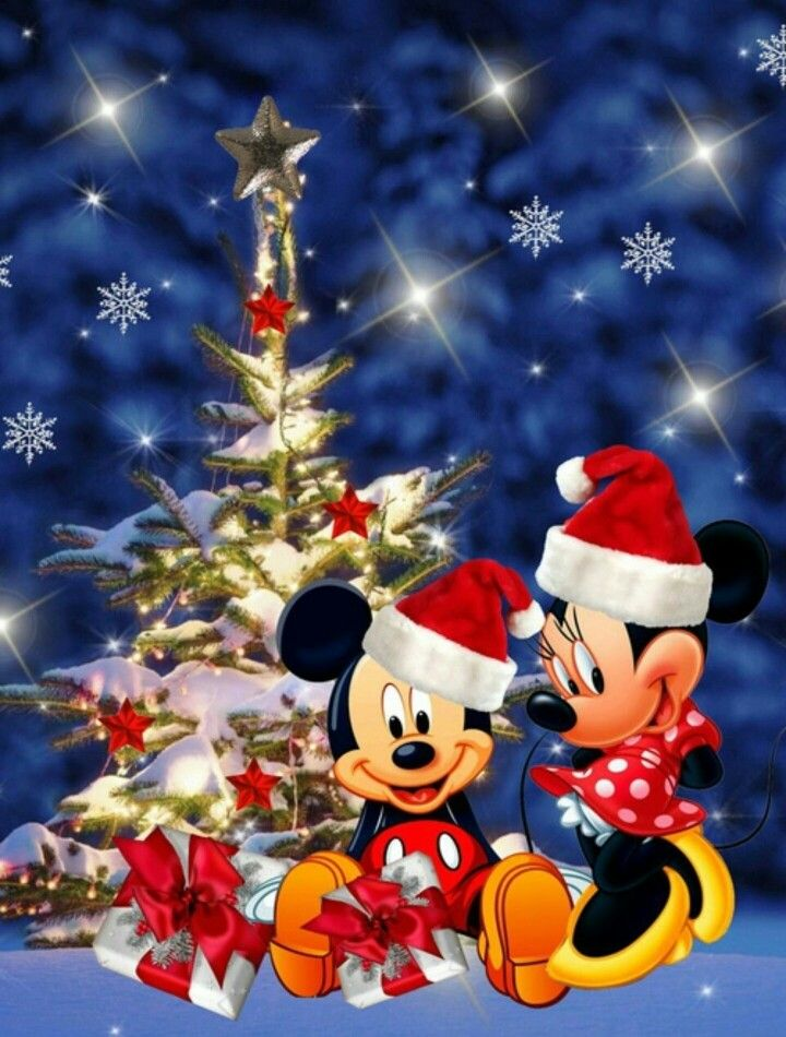 Christmas- Disney- Mickey & Minnie Mouse