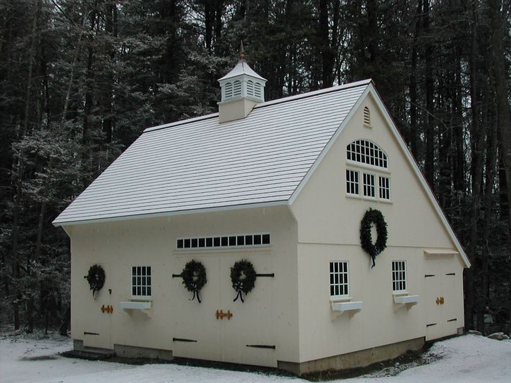 15 best 1 1 2 story saltbox images on pinterest barn for Carriage barn plans
