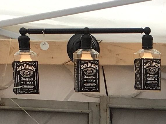 Jack Daniels Light Fixture by OregonKnowHow on Etsy