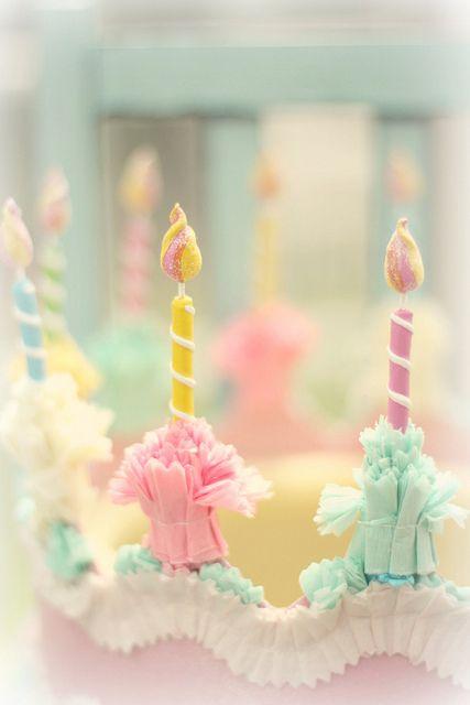 pastel birthday candlesHappy Birthday, Fruit Pop, Happy Day, Pastel Dreams, Pastel Candles, Pastel Pretty, Pretty Pastel, Pastel Colors, Birthday Cake