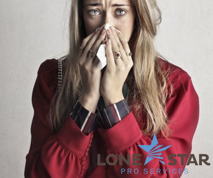 Are family members sniffling and sneezing more indoors