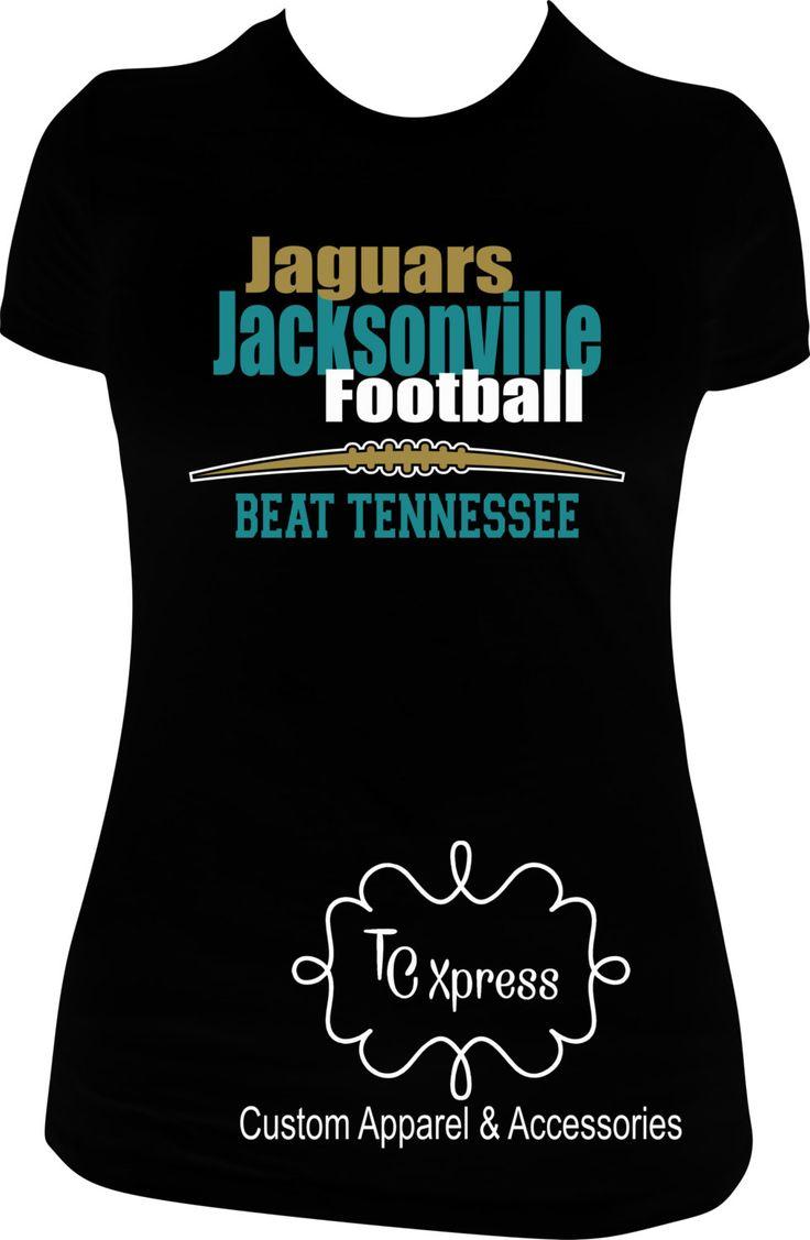 Jacksonville Jaguars Football T-Shirt by TCXpress on Etsy
