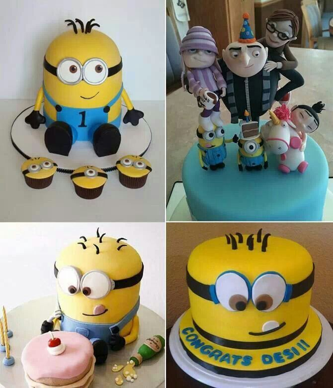 Really cute idea for a minion birthday party