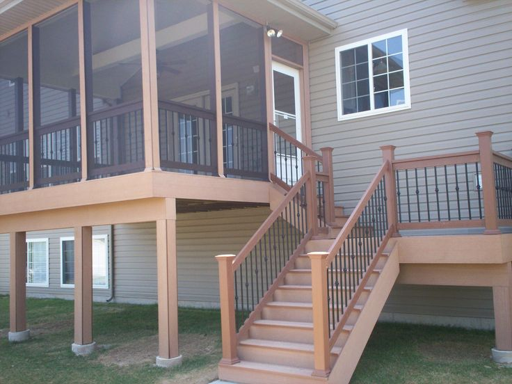 screened in deck | July | 2011 | St. Louis Decks, Screened Porches, Pergolas, Gazebos and ...