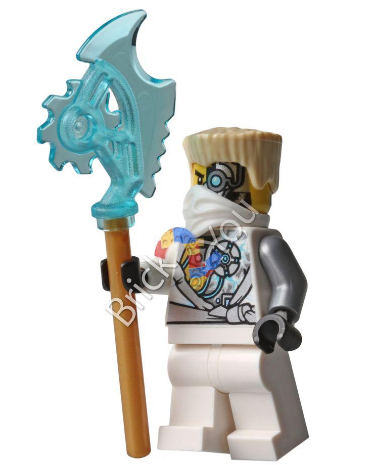 LEGO Ninjago Rebooted Zane Battle-Scarred, Digital file ...
