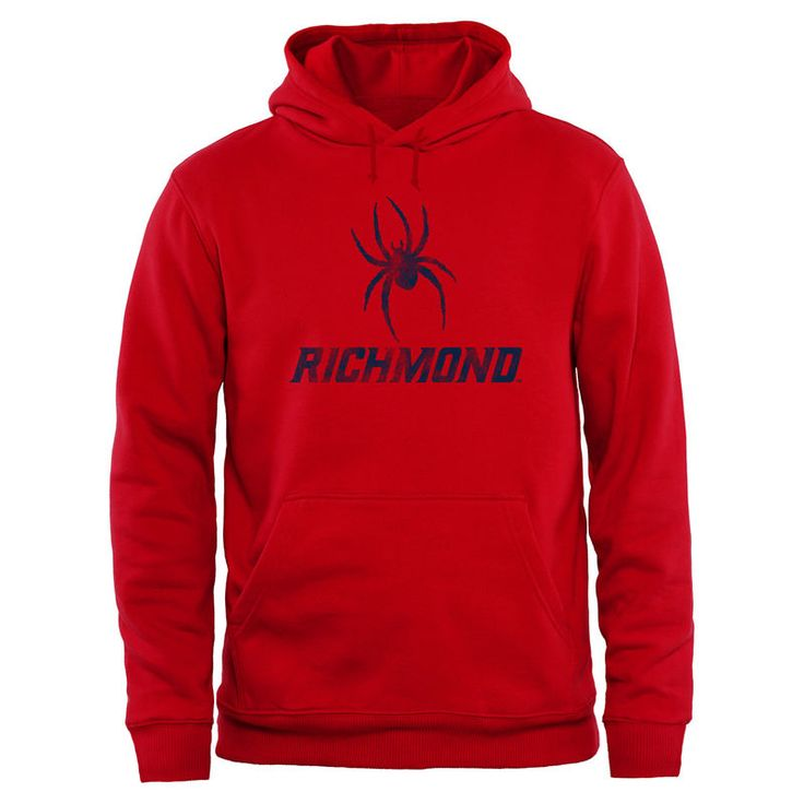 Richmond Spiders Big & Tall Classic Primary Pullover Hoodie - Red