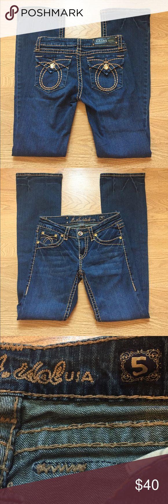 La idol  jeans sz 29(5) X33 Like new La Idol jeans sz 29(5) X33 LA Idol Jeans Boot Cut