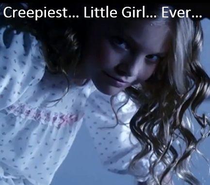 Creepy little girl from Ravenswood