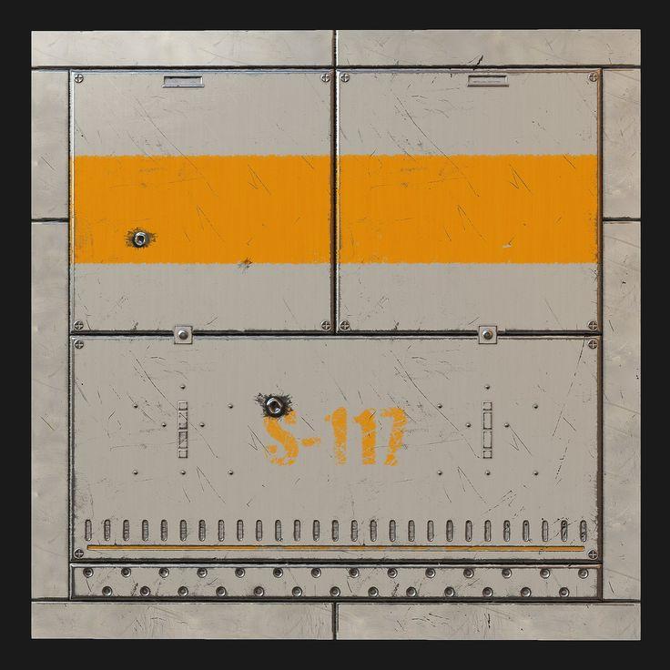 Sci Fi Wall, Devin Ealy on ArtStation at https://www.artstation.com/artwork/sci-fi-wall-76e55e56-b2f0-452a-ad34-b01c8257ed7c
